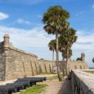 The Exterior of the Castillo de San Marco