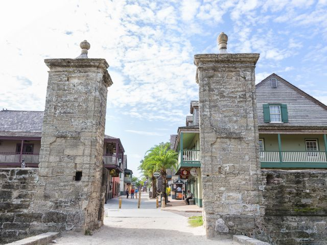 The City Gates near the St. George Inn