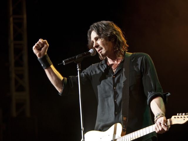 Rick Springfield at the St Augustine Amphitheatre